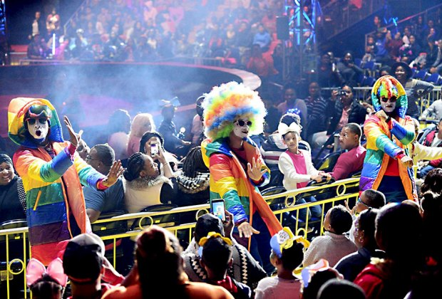 The UniverSoul Circus brings its world-class live entertainment to Washington Park. Photo courtesy of the circus