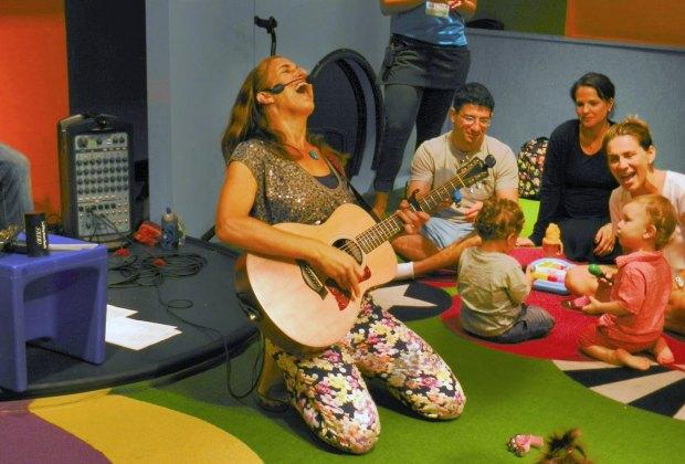 Celebrate Chanukah and Jam with Vanessa on Sunday! Photo courtesy of Vanessa Trien & The Jumping Monkeys