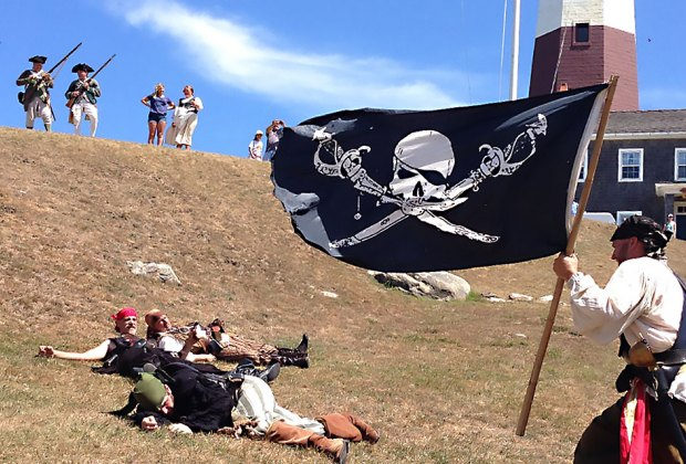Visit Montauk Point Lighthouse for a pirate-themed good time. Photo courtesy of the lighthouse