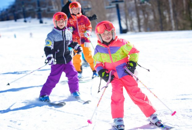 Private and semi-private lessons are available for littles at Wachusett. Photo courtesy of Wachusett Mountain