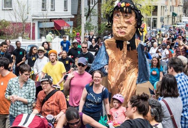 Wake Up the Earth Parade & Festival. Photo by MarcoClicks.com