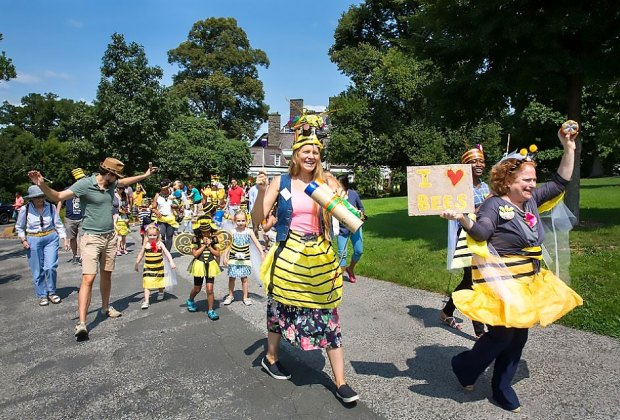 Celebrate bees at Wave Hill's Honey Weekend. Photo by Erica Berger