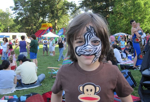 Kids can get wild at Maplewoodstock this weekend. Photo courtesy of the festival