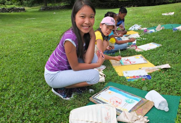 Take Part in Art! Photo courtesy of Weir Farm