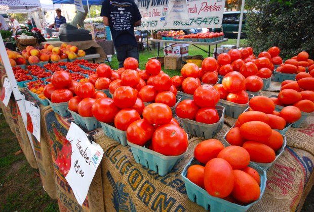 Savor New Jersey's most famous fruit at the West Cape May Tomato Festival. Photo courtesy of West Cape May Business Association