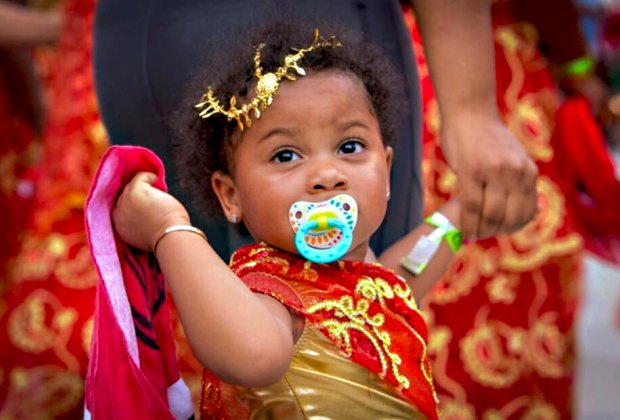 Party at the West Indian American Day Carnival and Children's Parade in Crown Heights. Photo courtesy of the event