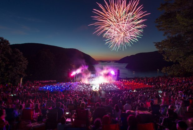 Celebrate July 4th at the West Point Band's Independence Day concert and fireworks celebration. Photo courtesy of West Point