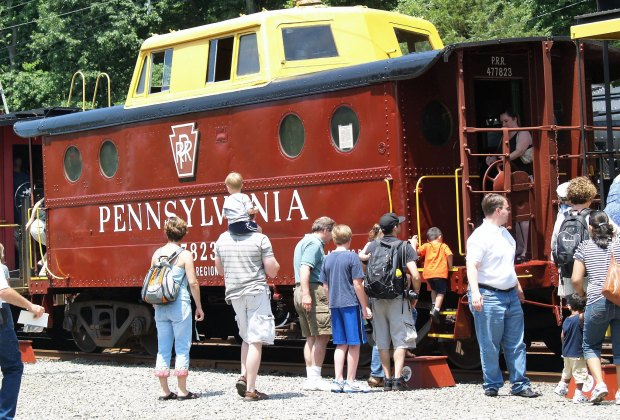Ride the rails in Whippany on Father's Day. Photo courtesy of the Whippany Railway Museum