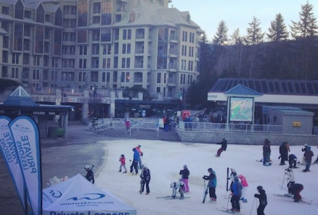 Whistler Mountain base