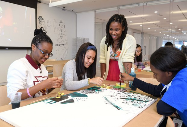 Take an improv art class at Open Studio for Teens at the Whitney. Photo by Filip Wolak for the museum