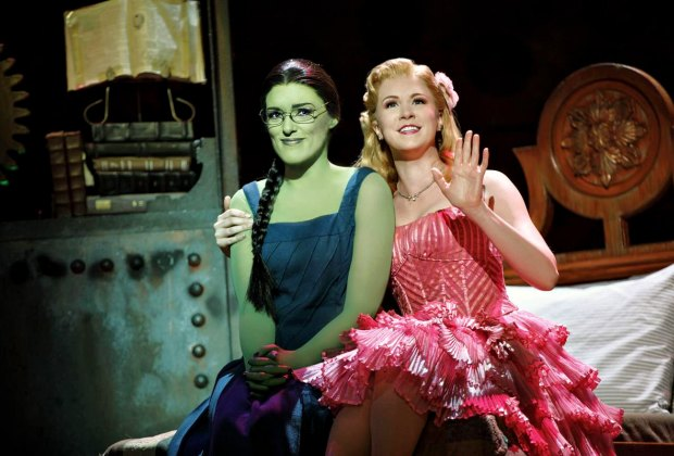 A scene from Wicked. Photo by Joan Marcus