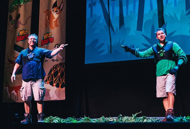 See the Wild Kratts live on stage at the Count Basie Theatre in Red Bank. Photo courtesy of Wild Kratts