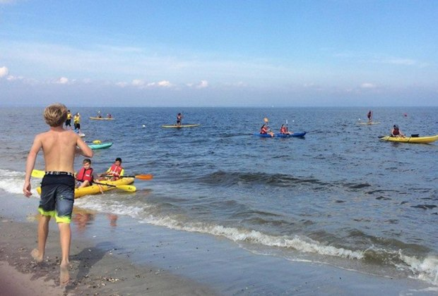 Celebrate the end of summer at the Wind and Sea Festival in Port Monmouth. Photo courtesy the Monmouth County Park System