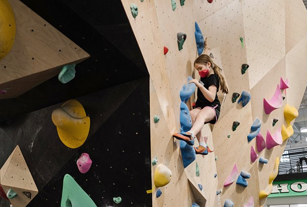 Spend winter afternoons climbing the walls at Brooklyn Boulders