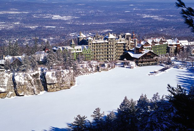 Mohonk Mountain House offers winter fun and recreation