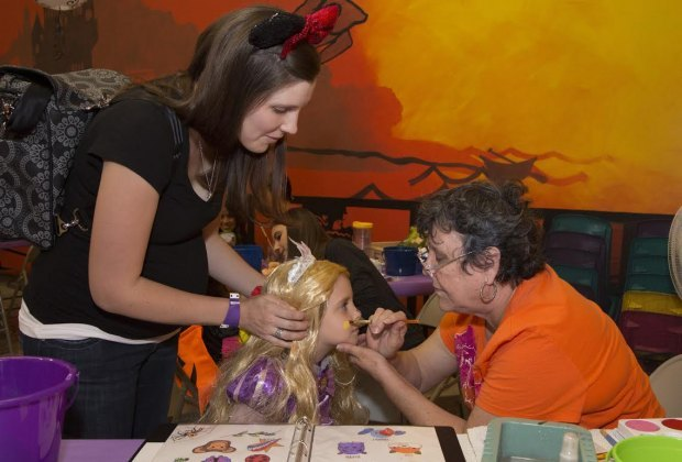 Take part in spooktacular fun at The Woodlands Children's Museum./Photo courtesy of The Woodlands Children's Museum.