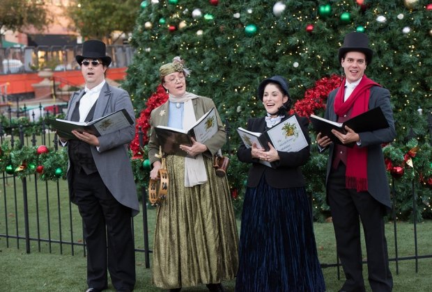 Head out to The Woodlands for some Christmas caroling./Photo courtesy of Kathleen O'Ryan Photography.