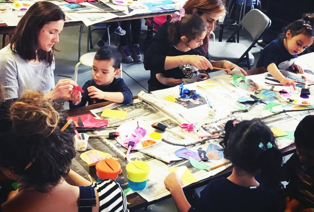 Children can learn, create, and have fun in February school-break workshops ay the Vanderbilt Museum. Photo courtesy of the museum