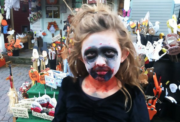 Come in costume or get made-up onsite at the Monster Bash and Zombie Walk at Historic Smithville. Photo courtesy of Historic Smithville