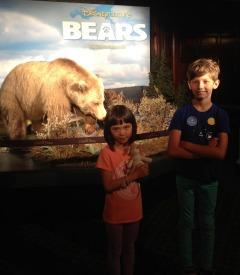 Bears at Disney's El Capitan Theatre in Hollywood