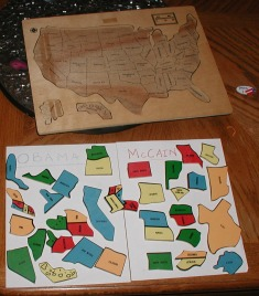 Kids' Activity for Election Night