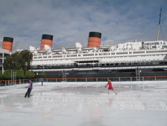 Ice Rink at CHILL at the Queen Mary