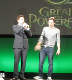 James Franco at the opening of Oz the Great and Powerful at El Capitan