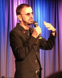 Ringo Starr opens his exhibit Peace & Love at LA's GRAMMY Museum June 2013