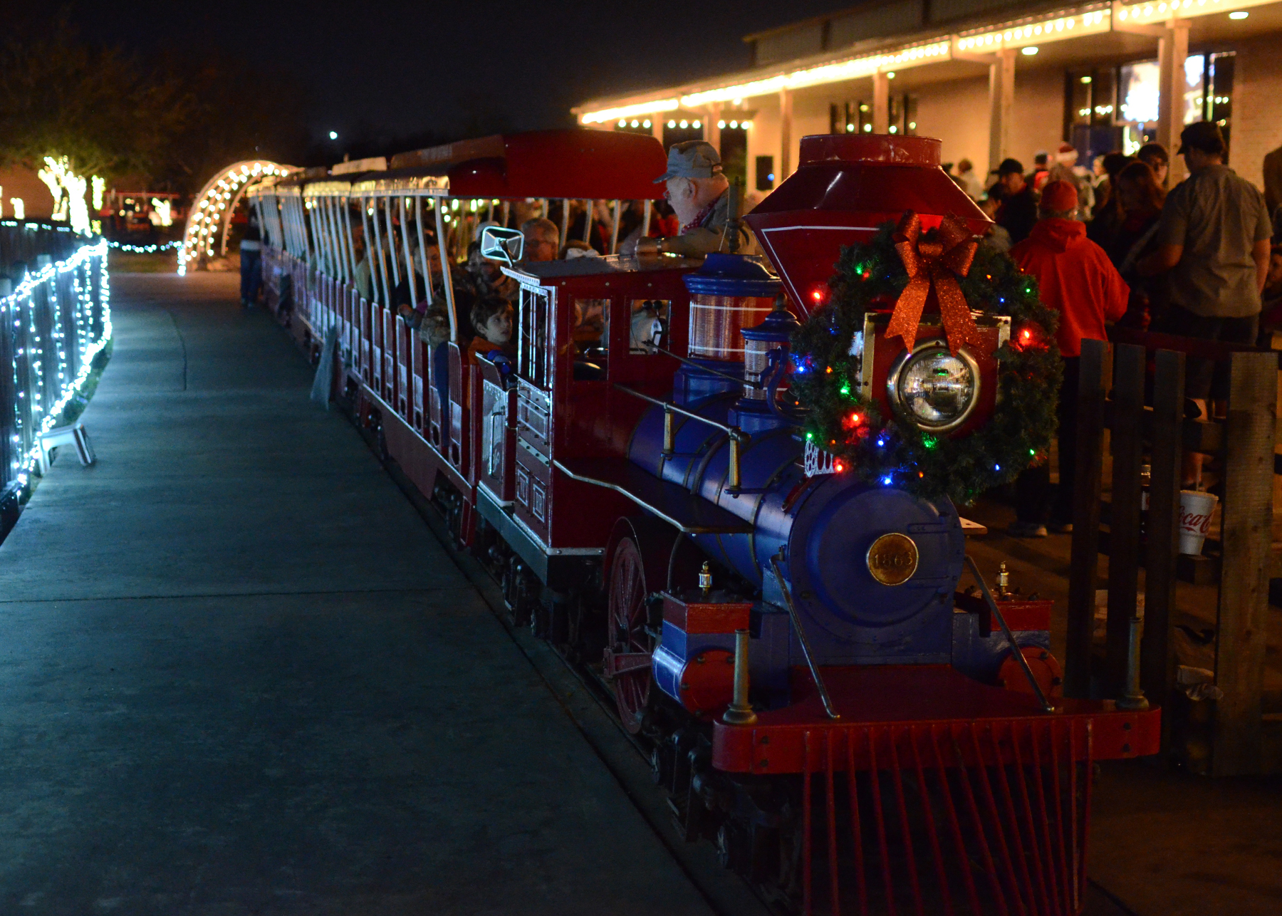 The Christmas Train.All Aboard Where To Find Magical Christmas Train Rides In